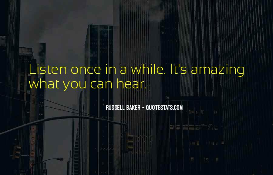 Russell Baker Quotes #448130