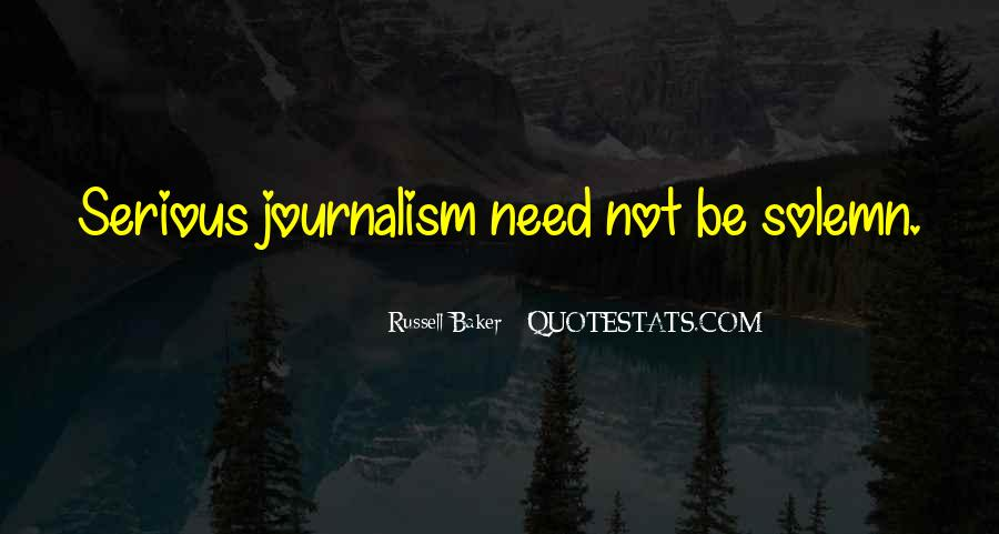 Russell Baker Quotes #793798