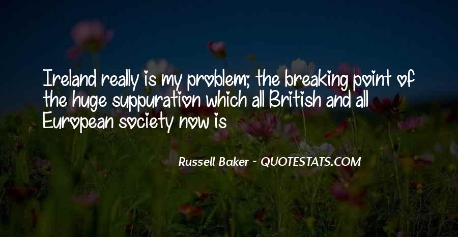 Russell Baker Quotes #825173