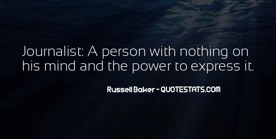 Russell Baker Quotes #900305