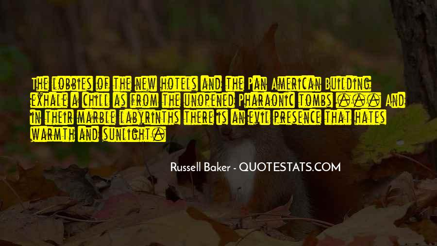 Russell Baker Quotes #931586