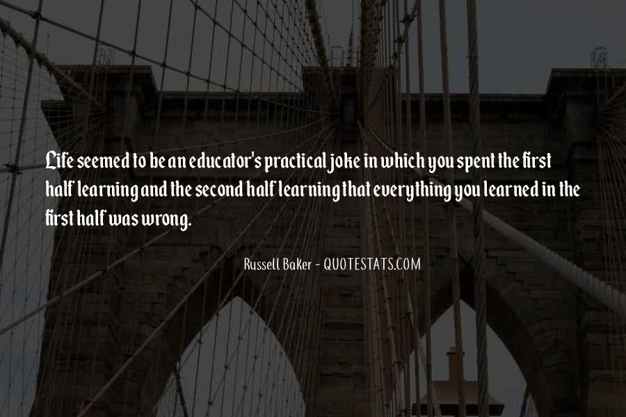Russell Baker Quotes #985339