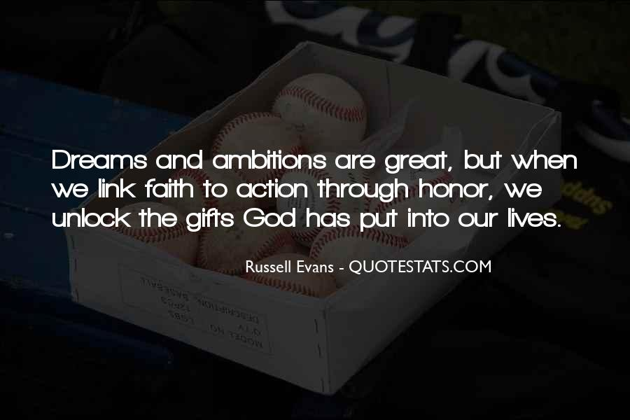 Russell Evans Quotes #1375668