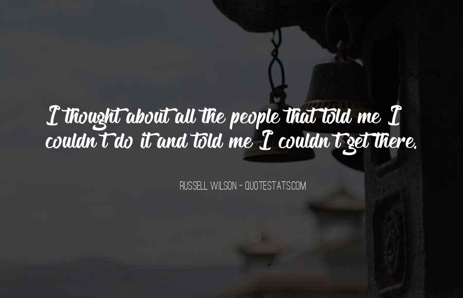 Russell Wilson Quotes #1530153