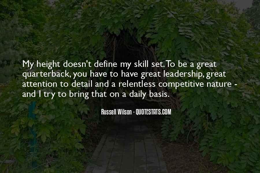 Russell Wilson Quotes #1640309