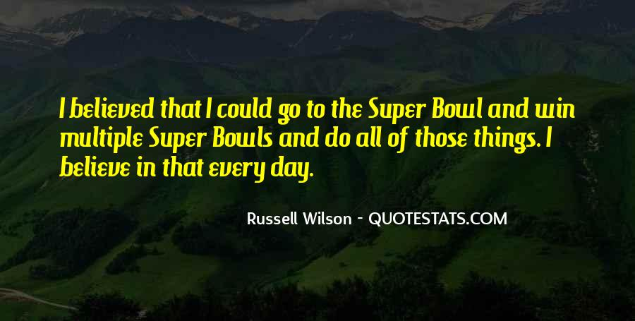 Russell Wilson Quotes #1650718