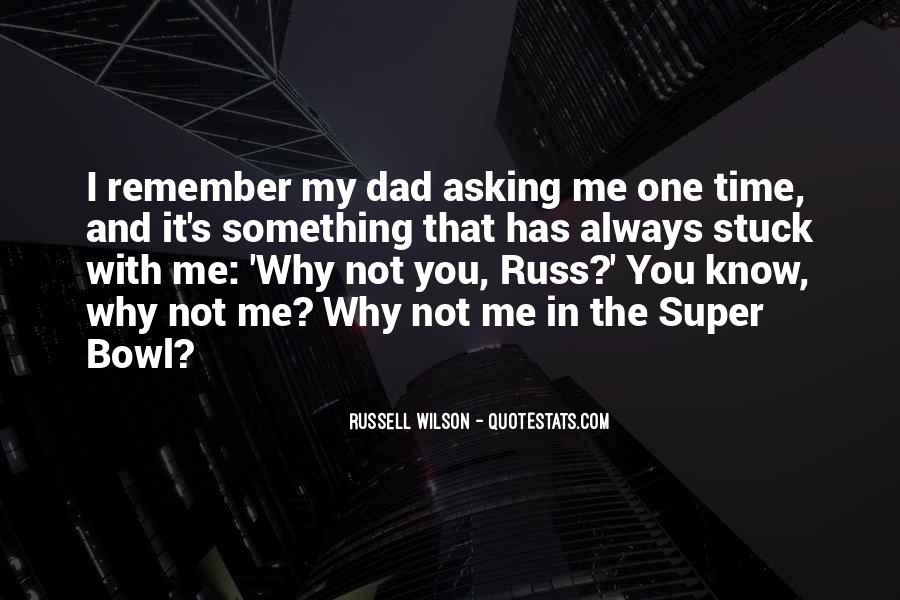 Russell Wilson Quotes #1705097