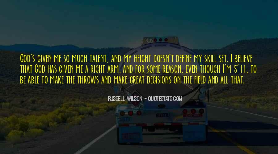 Russell Wilson Quotes #190838