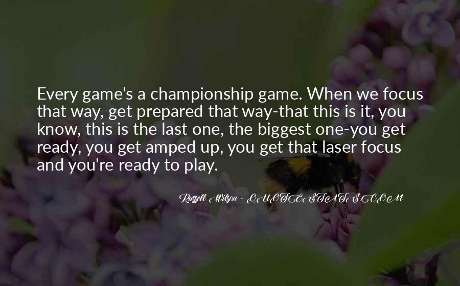 Russell Wilson Quotes #61637