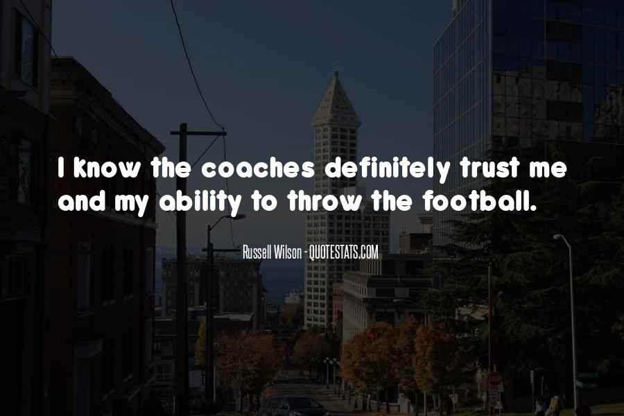 Russell Wilson Quotes #788517