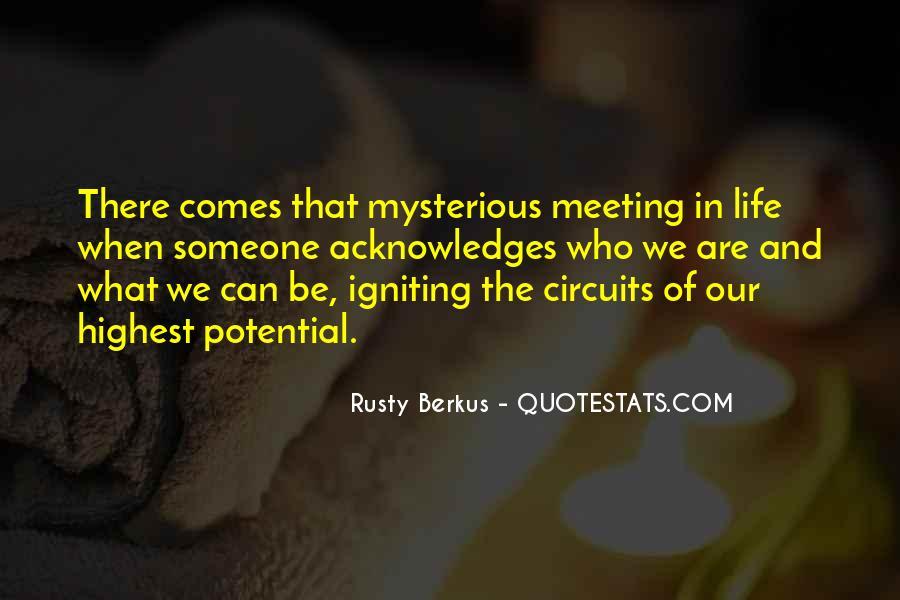 Rusty Berkus Quotes #1384435