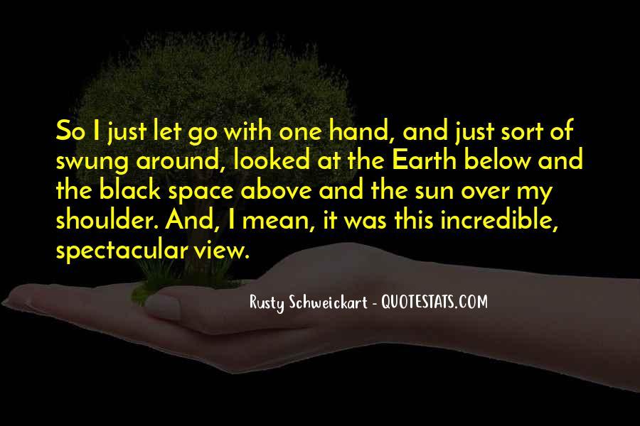 Rusty Schweickart Quotes #923303