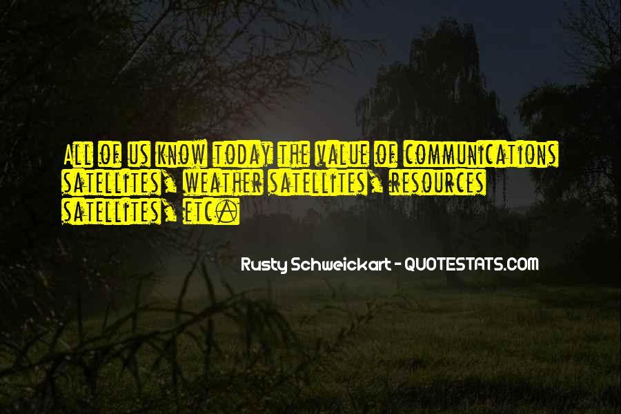 Rusty Schweickart Quotes #94311