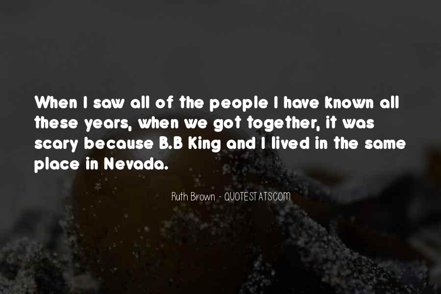 Ruth Brown Quotes #1575758