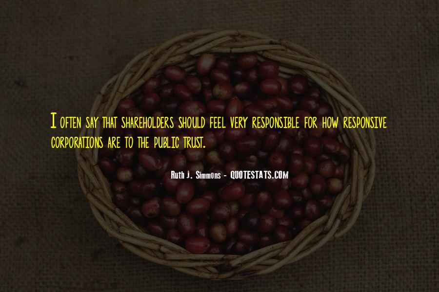 Ruth J. Simmons Quotes #1786532