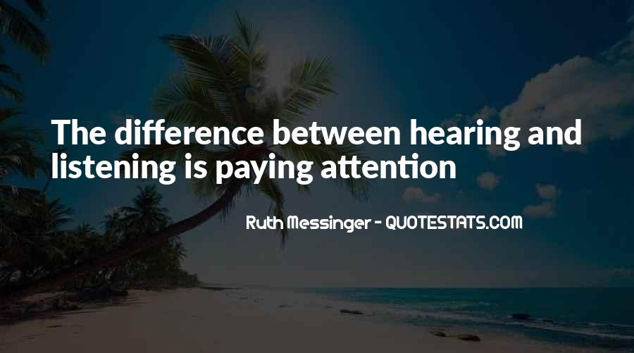 Ruth Messinger Quotes #789983