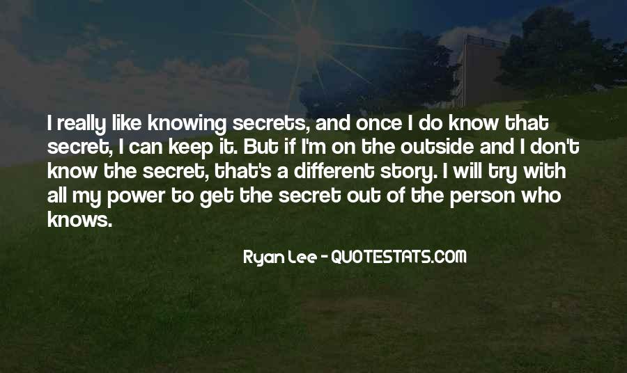 Ryan Lee Quotes #952726