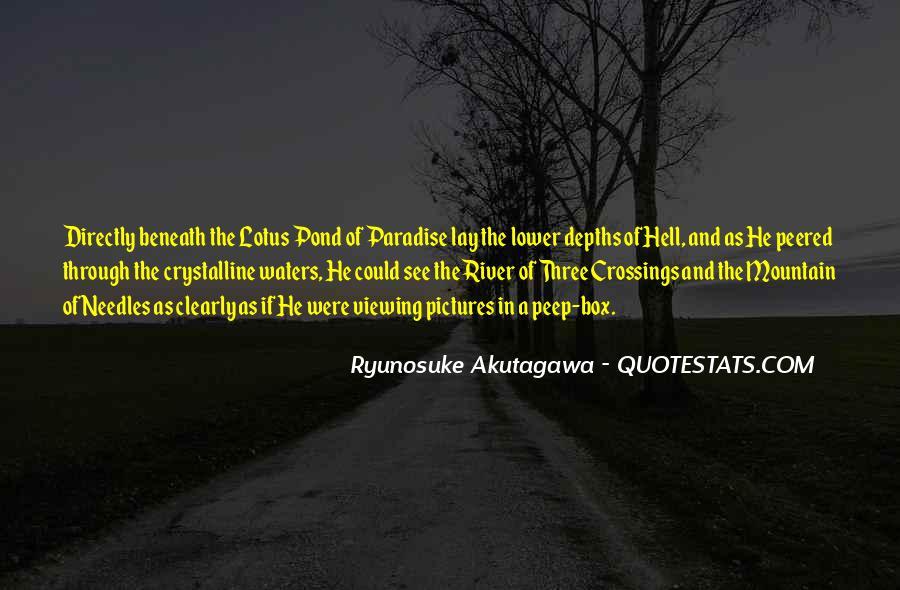 Ryunosuke Akutagawa Quotes #100374