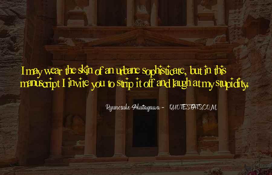 Ryunosuke Akutagawa Quotes #1742856