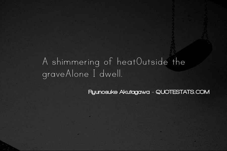 Ryunosuke Akutagawa Quotes #579413