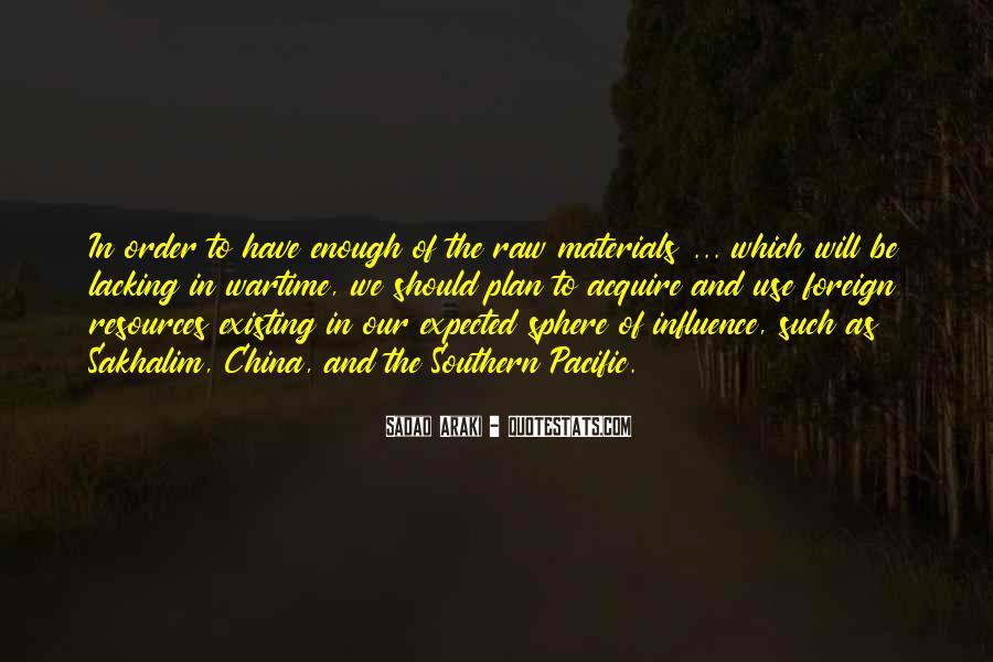 Sadao Araki Quotes #1076153