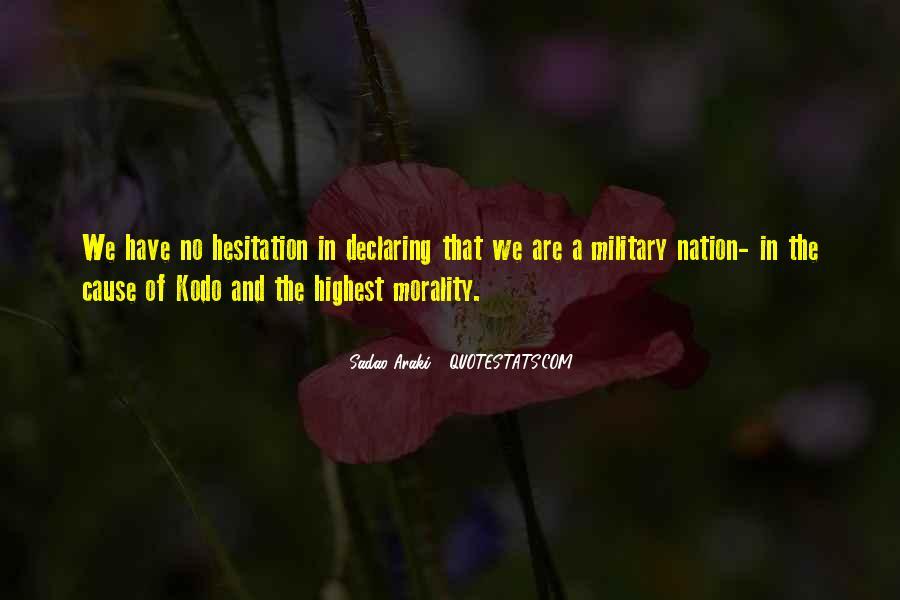 Sadao Araki Quotes #191509