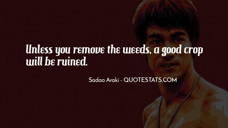 Sadao Araki Quotes #497872