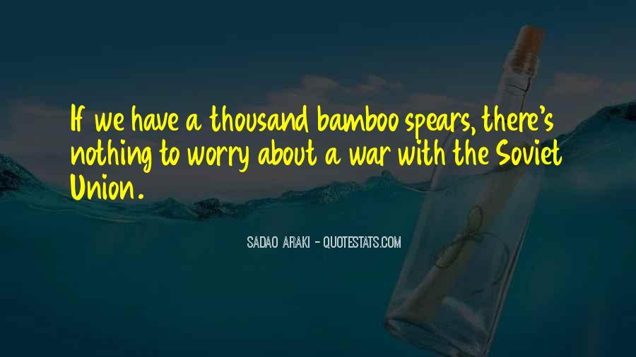 Sadao Araki Quotes #801689