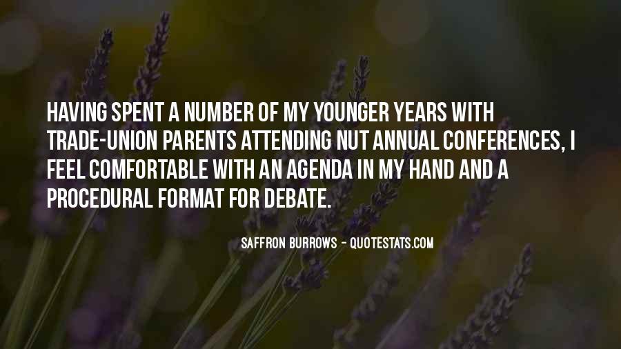 Saffron Burrows Quotes #1422267