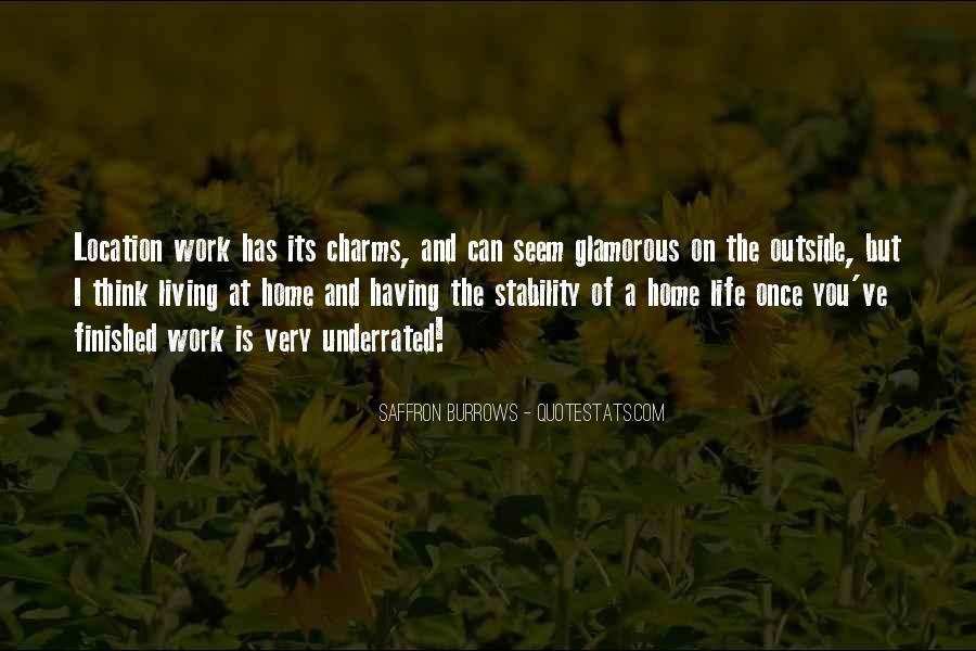 Saffron Burrows Quotes #1520821