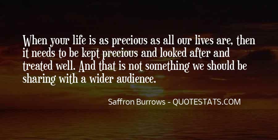 Saffron Burrows Quotes #1591417