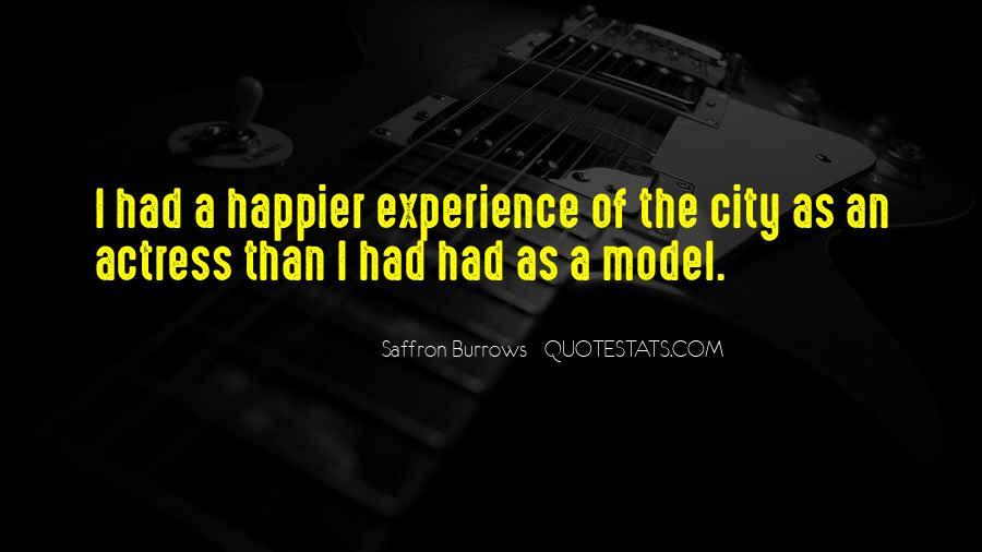 Saffron Burrows Quotes #295764