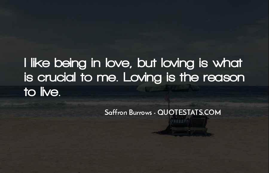 Saffron Burrows Quotes #402941