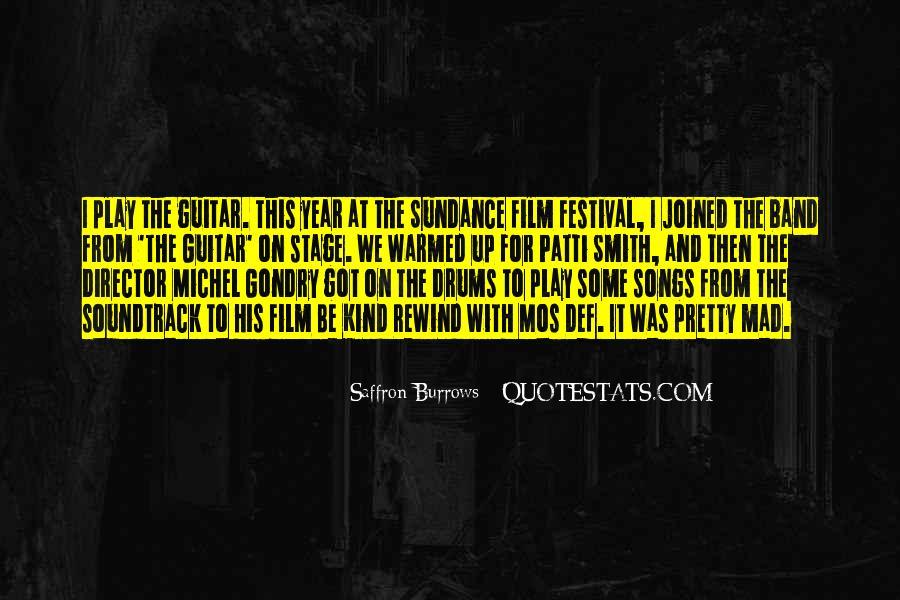 Saffron Burrows Quotes #421150