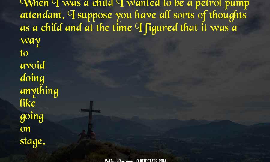 Saffron Burrows Quotes #575848