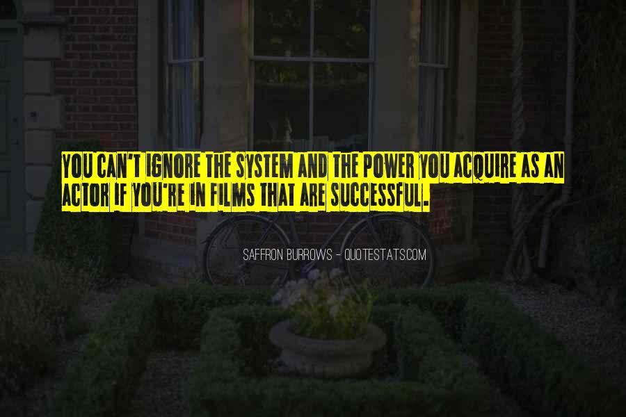 Saffron Burrows Quotes #846072