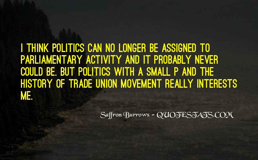 Saffron Burrows Quotes #84676