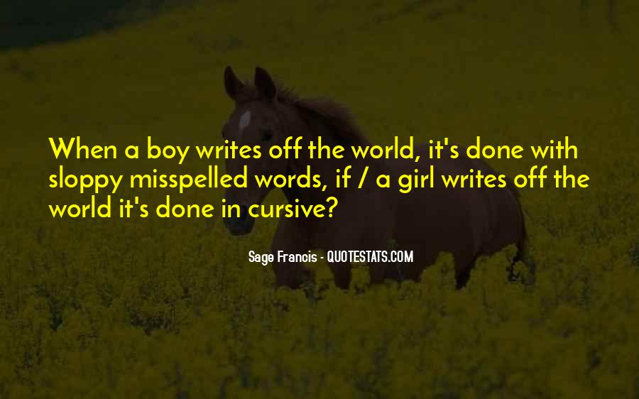 Sage Francis Quotes #266829