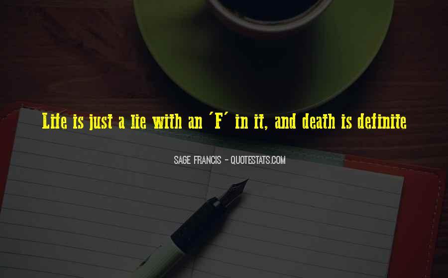 Sage Francis Quotes #807703