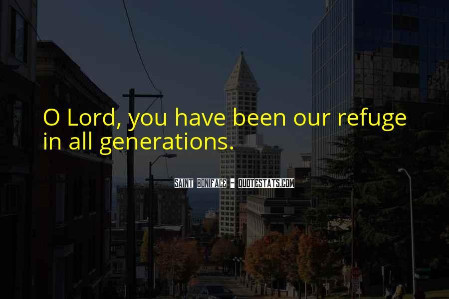 Saint Boniface Quotes #1776818