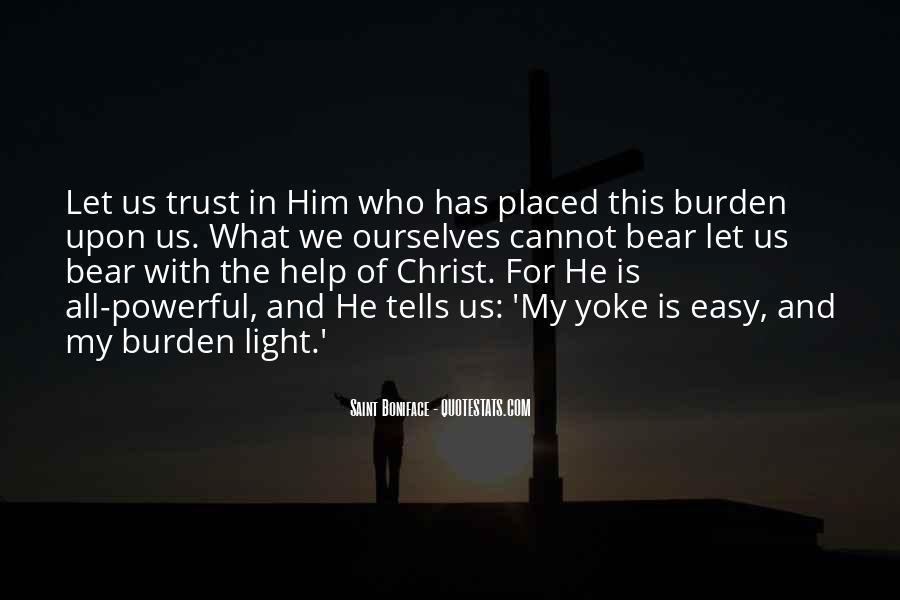 Saint Boniface Quotes #971331