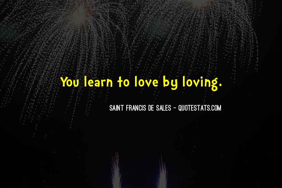 Saint Francis De Sales Quotes #339162