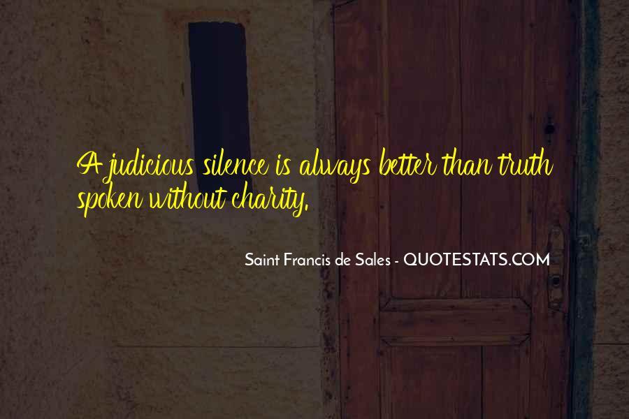 Saint Francis De Sales Quotes #341404