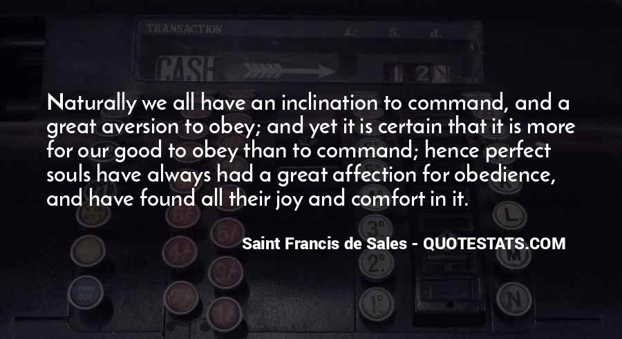 Saint Francis De Sales Quotes #396599
