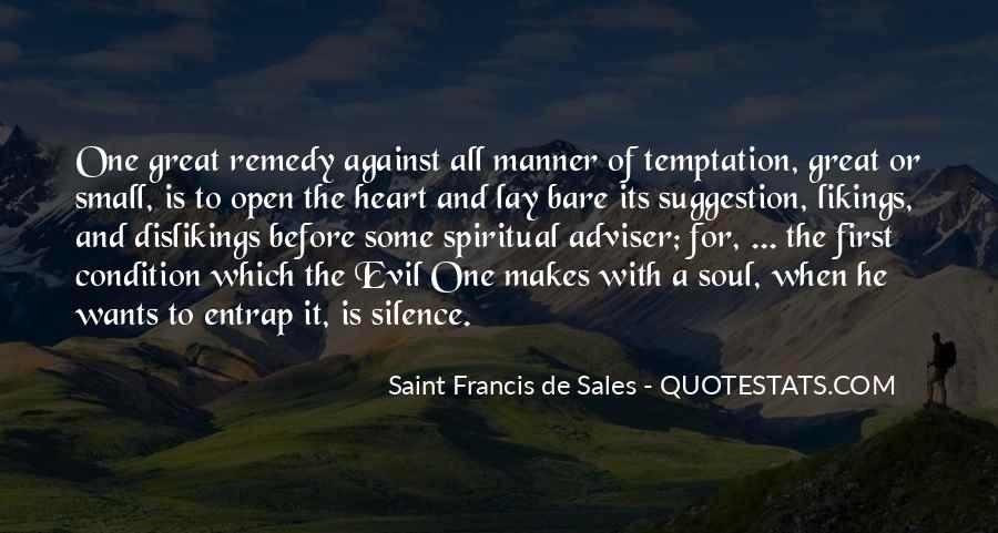 Saint Francis De Sales Quotes #494115