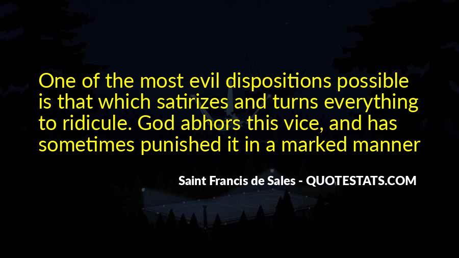 Saint Francis De Sales Quotes #649110