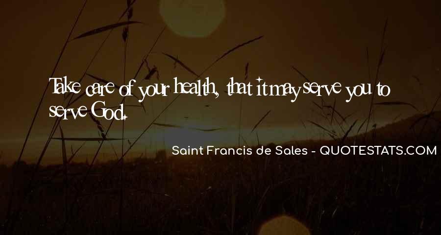 Saint Francis De Sales Quotes #74345