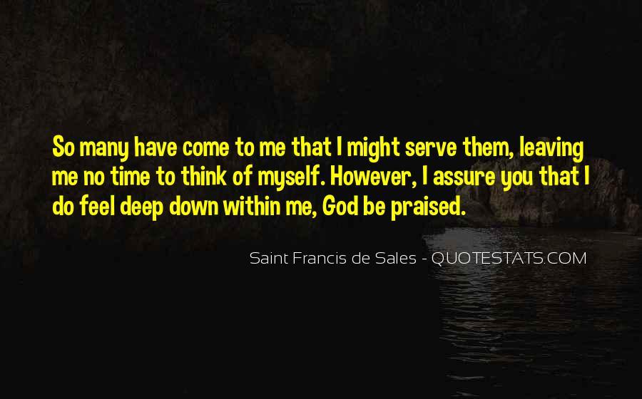 Saint Francis De Sales Quotes #85366
