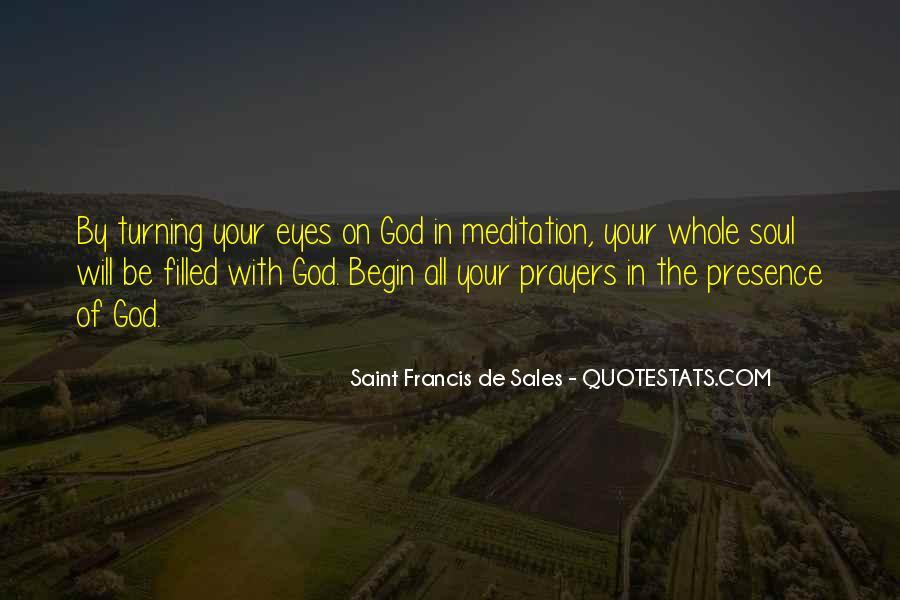Saint Francis De Sales Quotes #927570