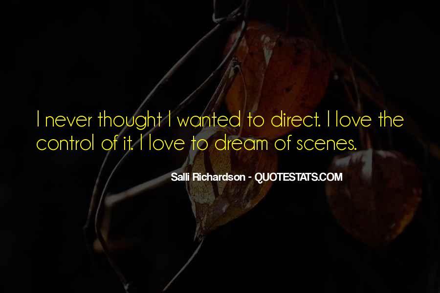 Salli Richardson Quotes #1652128